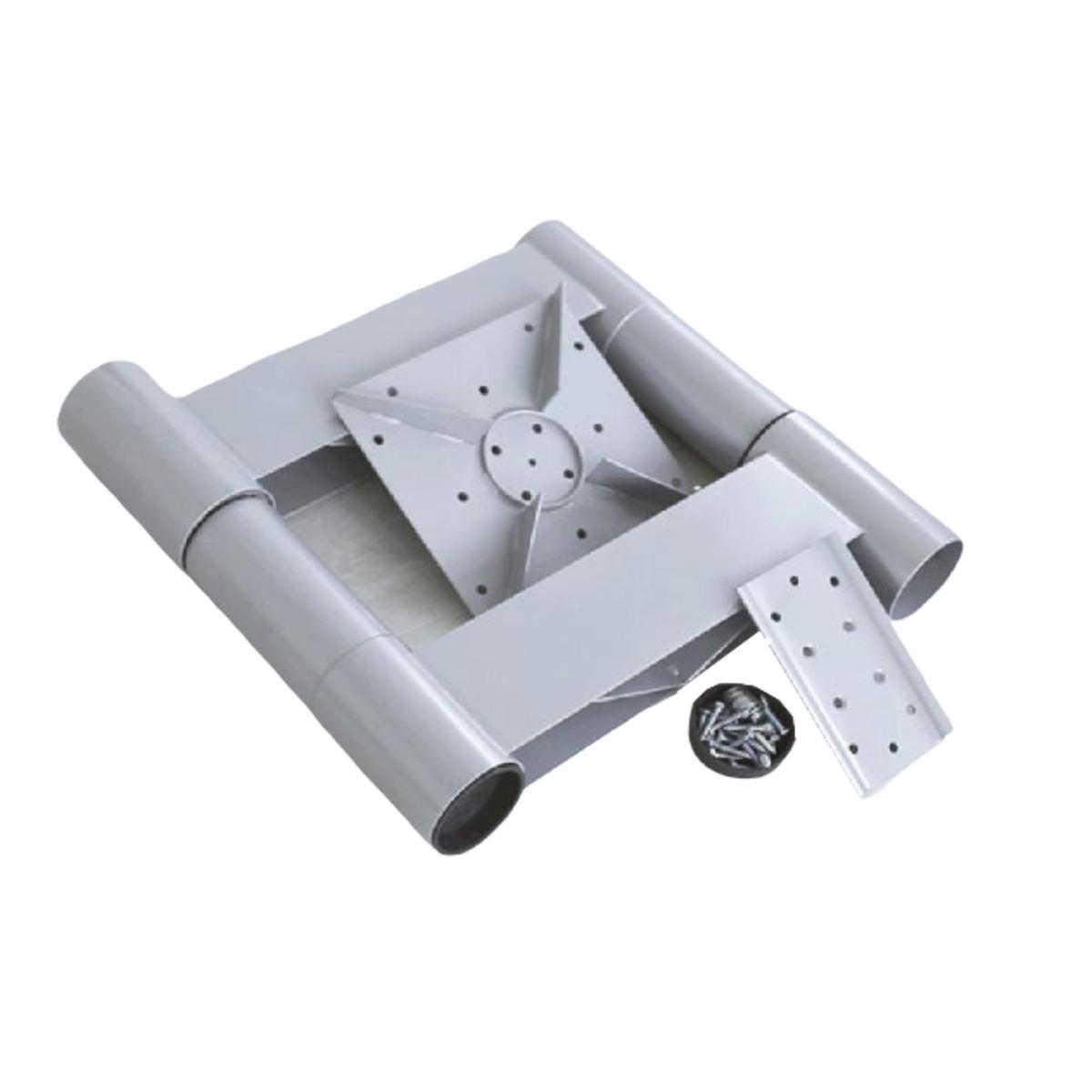 Комплект поворота на 90° 225 мм алюминий
