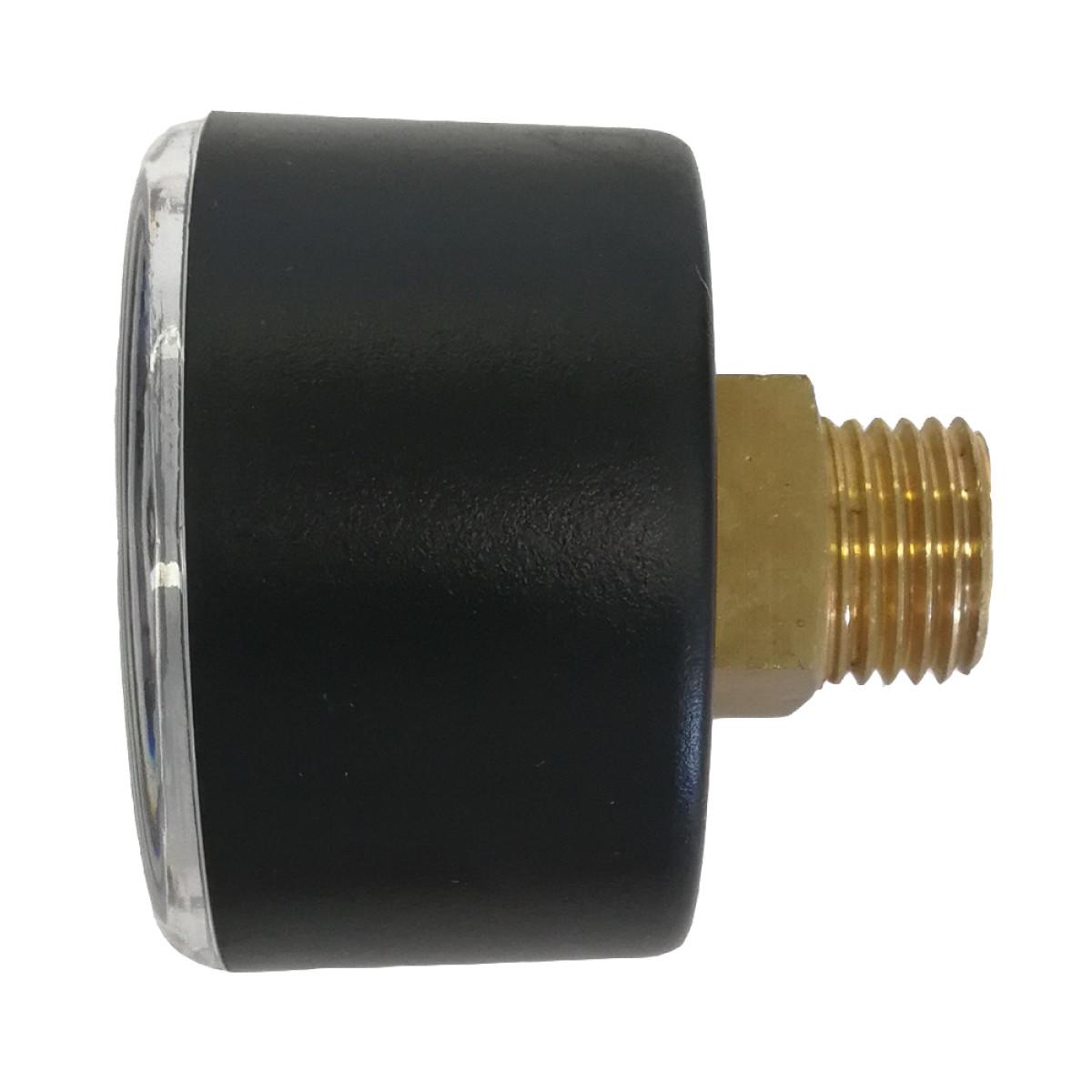 Манометр аксиальный 1/4 0-10 бар для фильтров BWT Protector mini HWS с редуктором давления