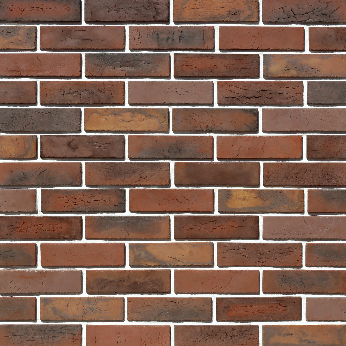 Плитка декоративная Терамо Брик II цвет махагон коричневый 1.34 м²