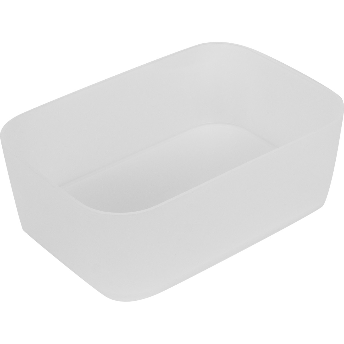 Ёмкость малая Berossi 15x5x11 см пластик цвет прозрачный