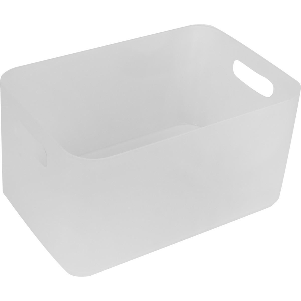 Ёмкость большая Berossi 22x12x15 см пластик цвет прозрачный