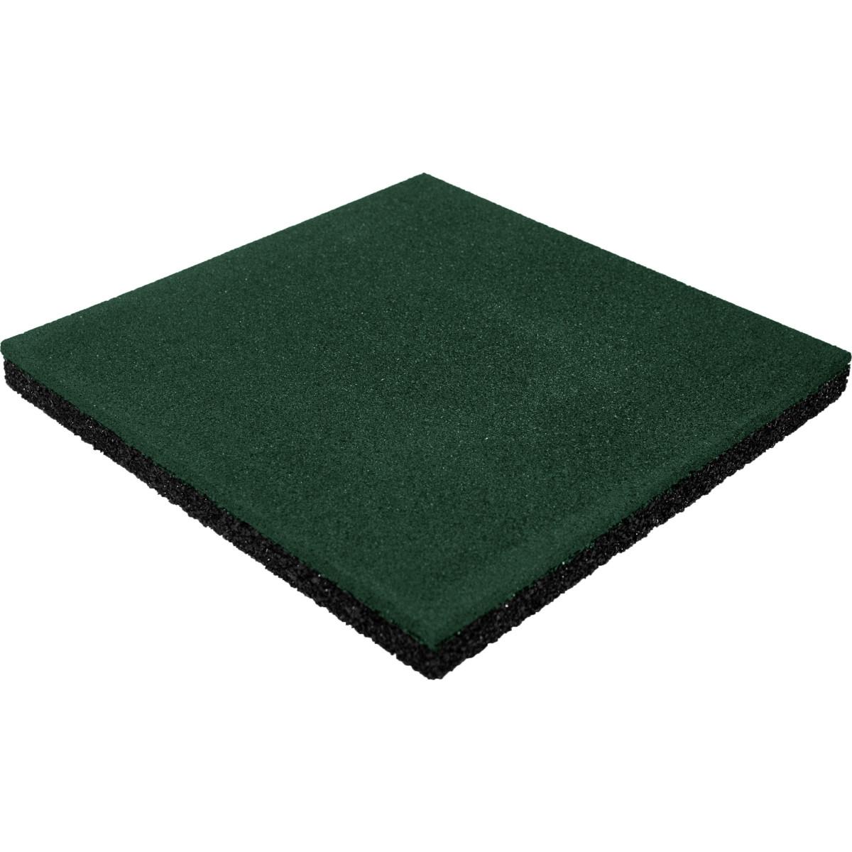 Плитка резиновая 500х500х40 пуансон зеленый