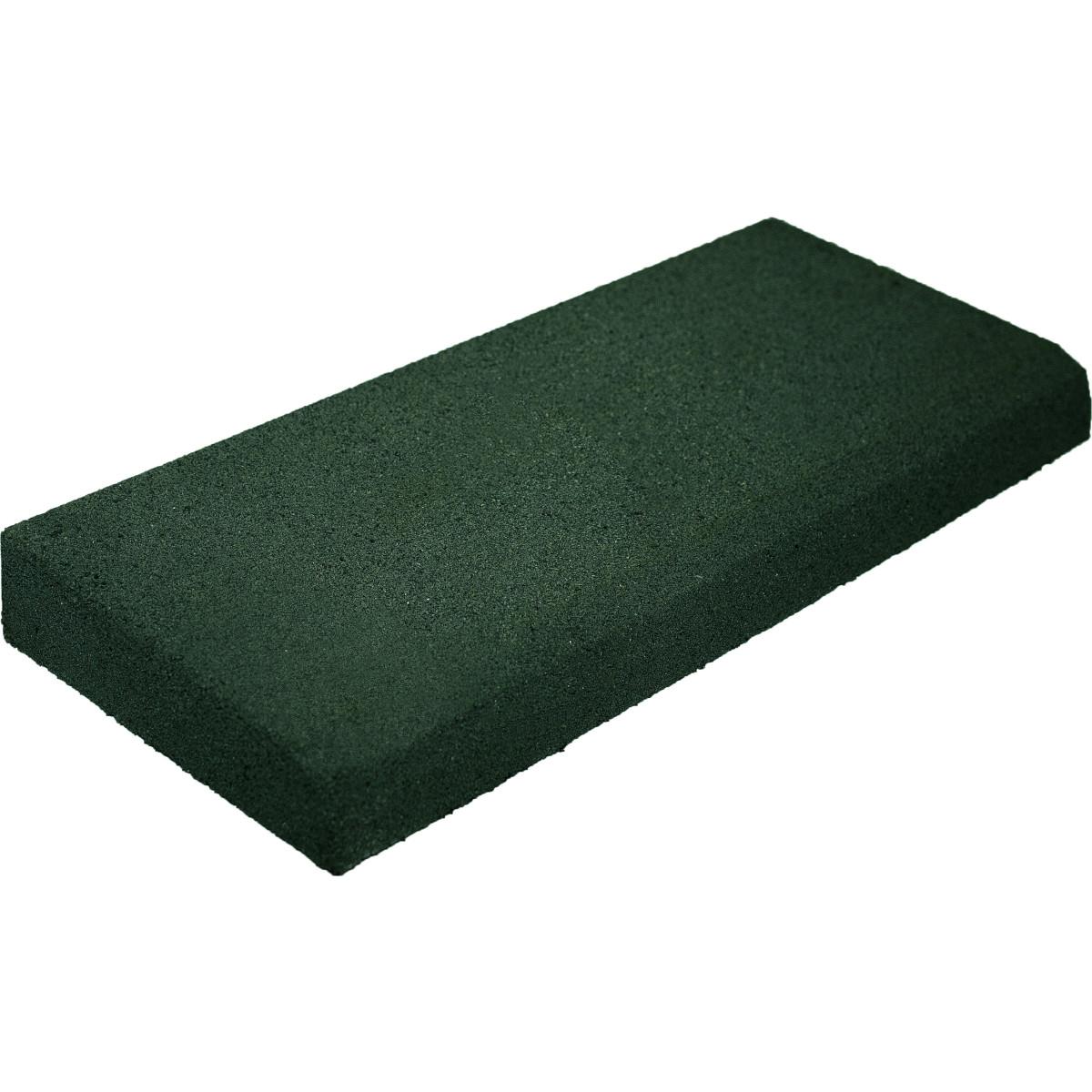 Бордюр резиновый 500х200х50 зеленый