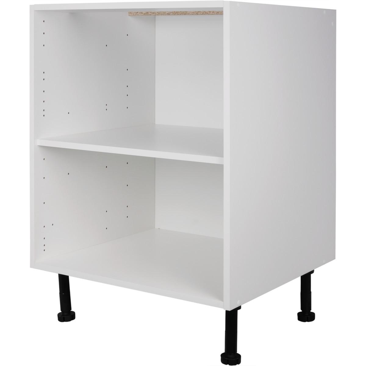 Каркас напольный 60x70x56 см ЛДСП цвет белый