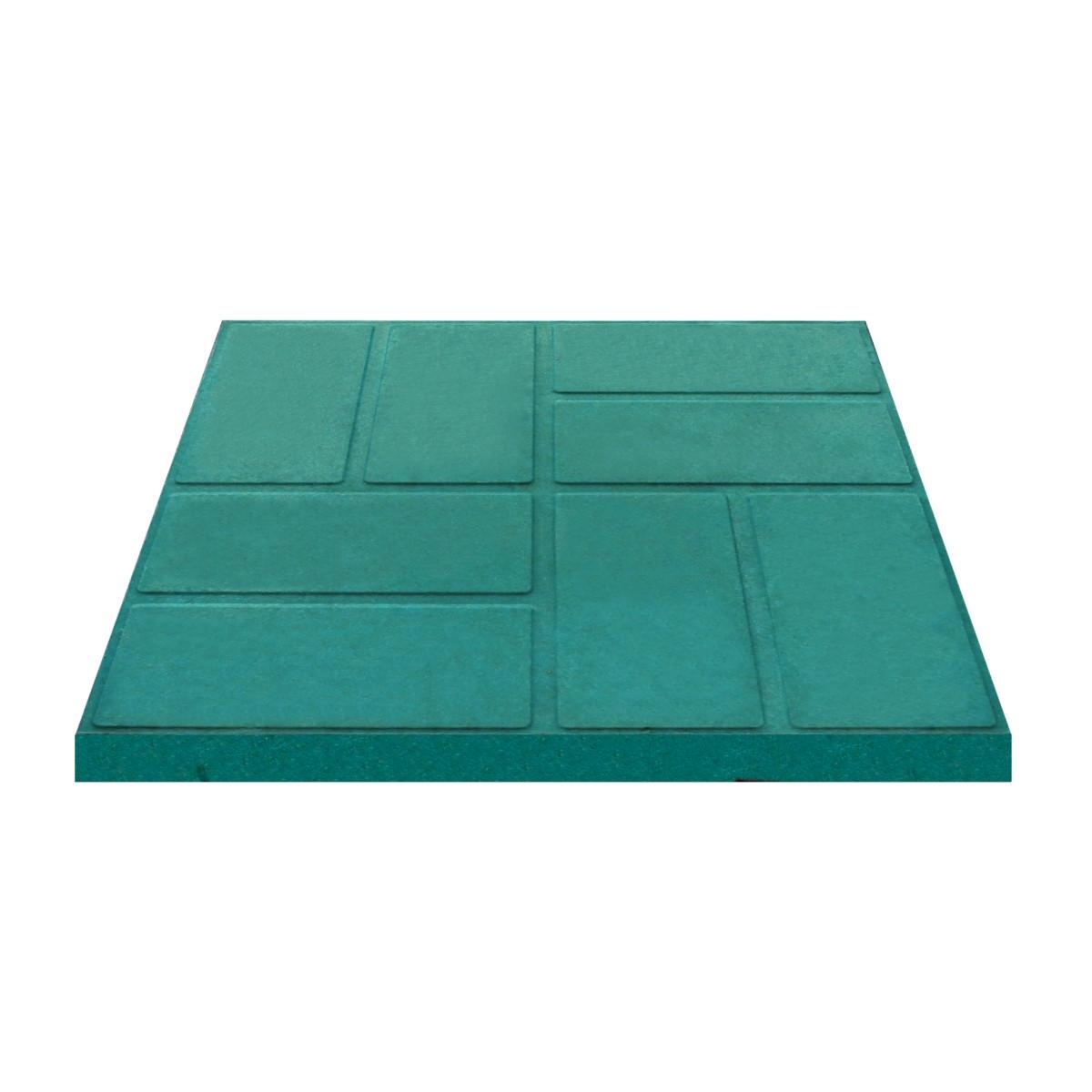 Плитка тротуарная 330x330x35 мм цвет зеленый