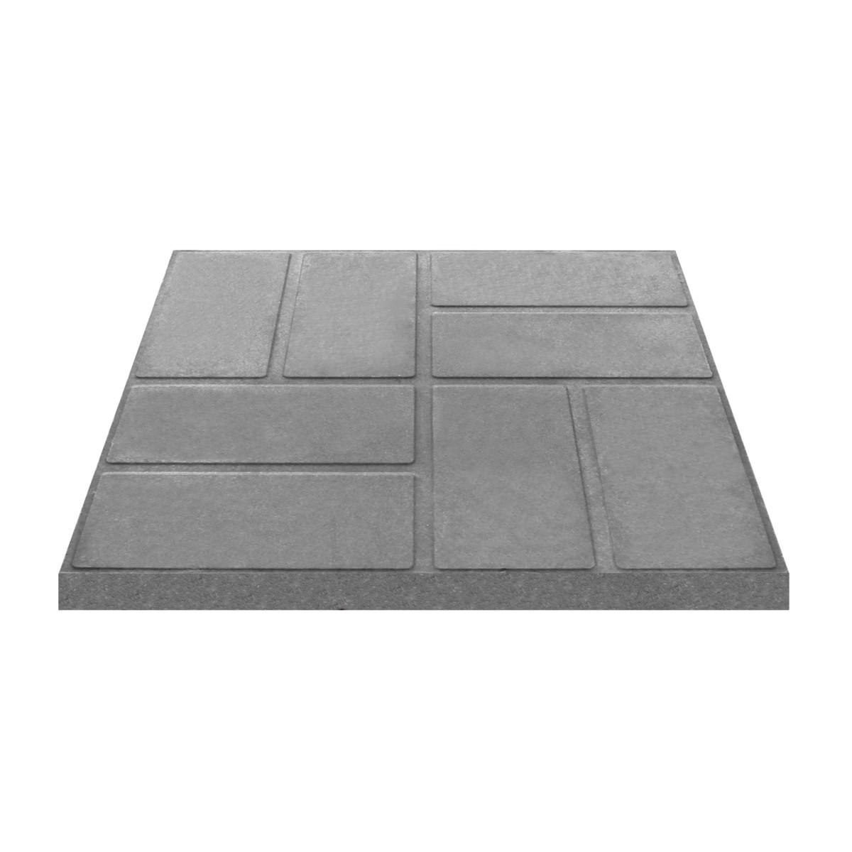 Плитка тротуарная 330x330x35 мм цвет серый