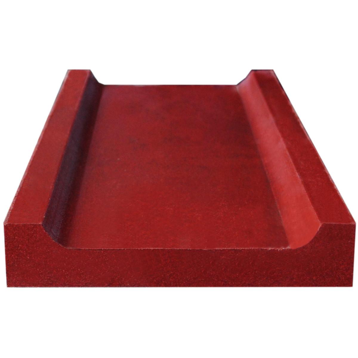 Водосток 500x200x35 мм цвет красный