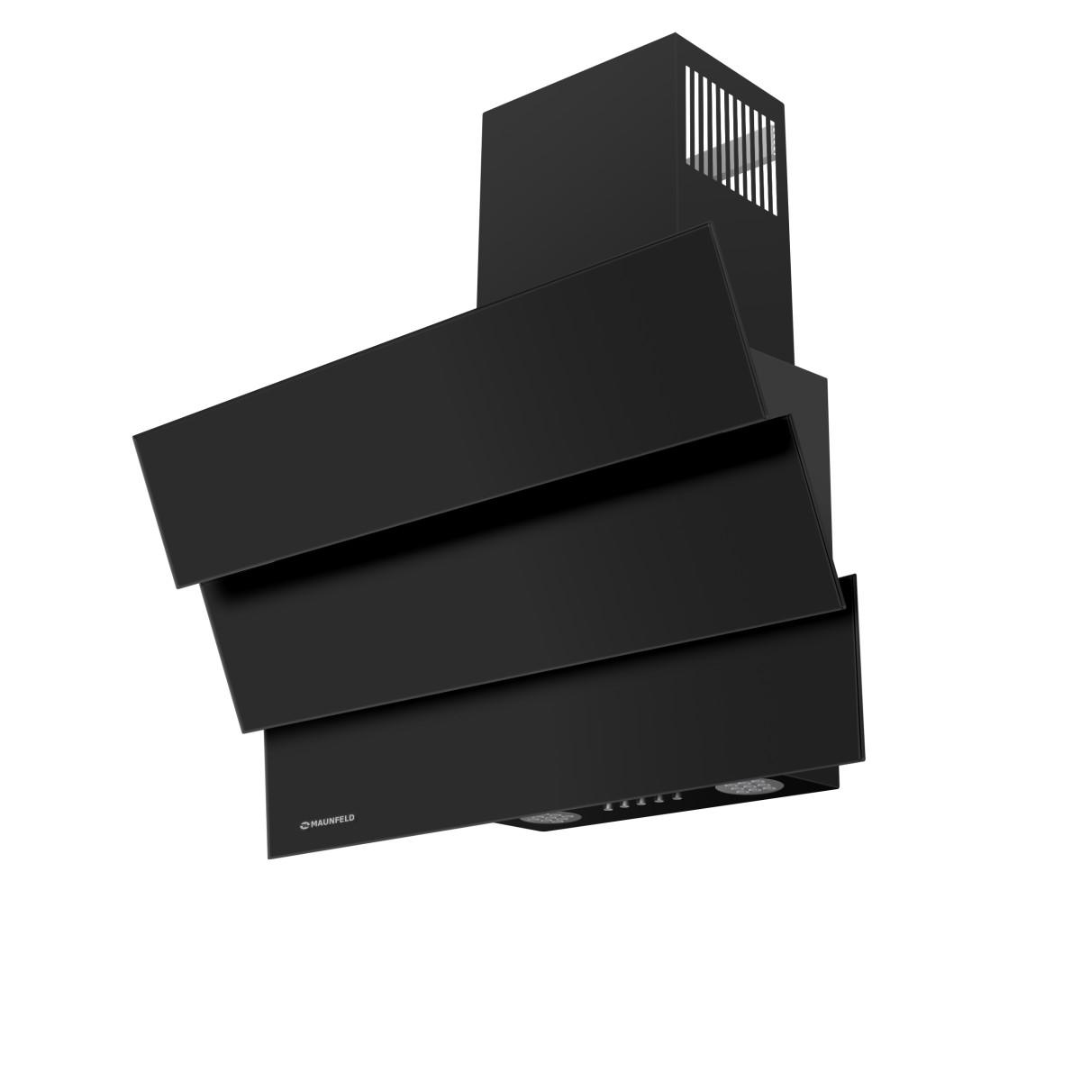 Вытяжка MAUNFELD Cascada Mini 60 см цвет черный