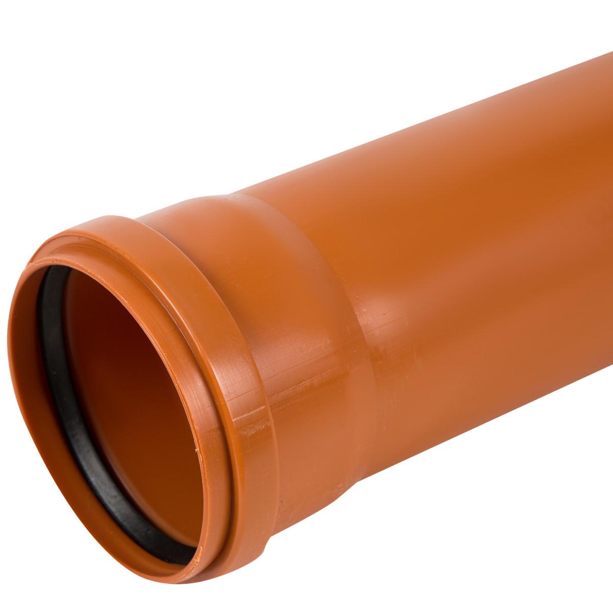 Труба раструбная наружная Пиарком SN2 110x2000 мм
