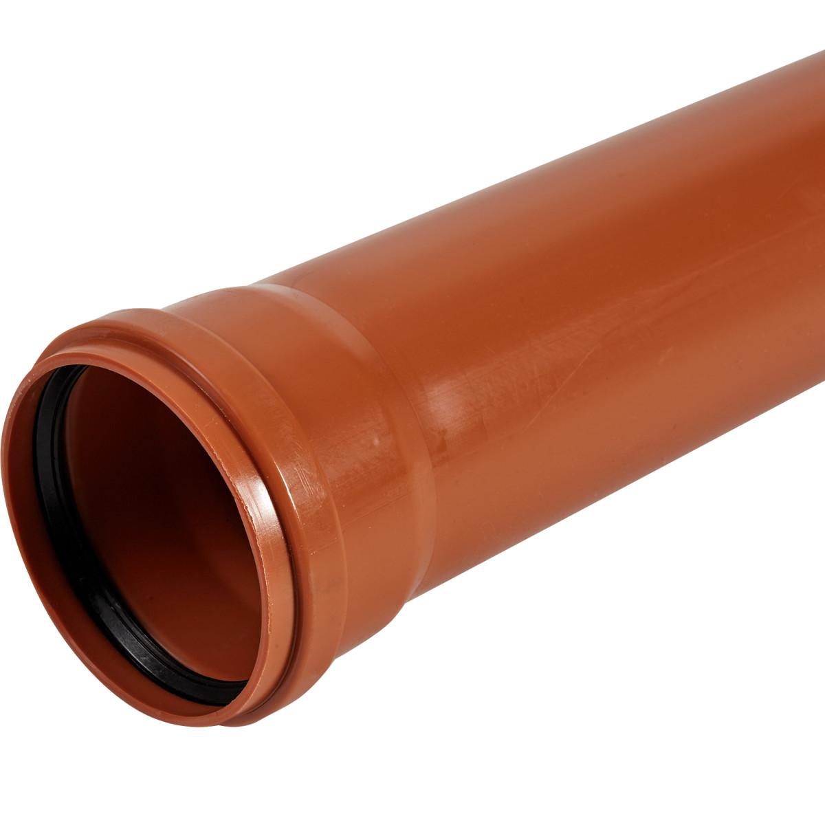 Труба раструбная наружная Пиарком SN2 110x3000 мм