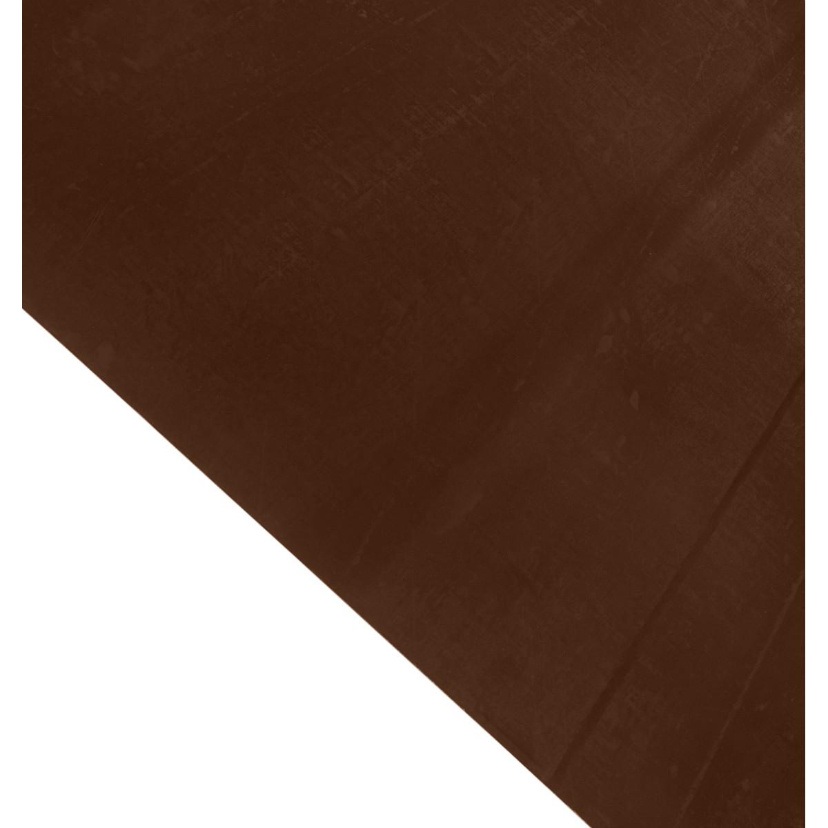 Лист гладкий 0.35 мм 1250х2000 мм коричневый RAL 8017