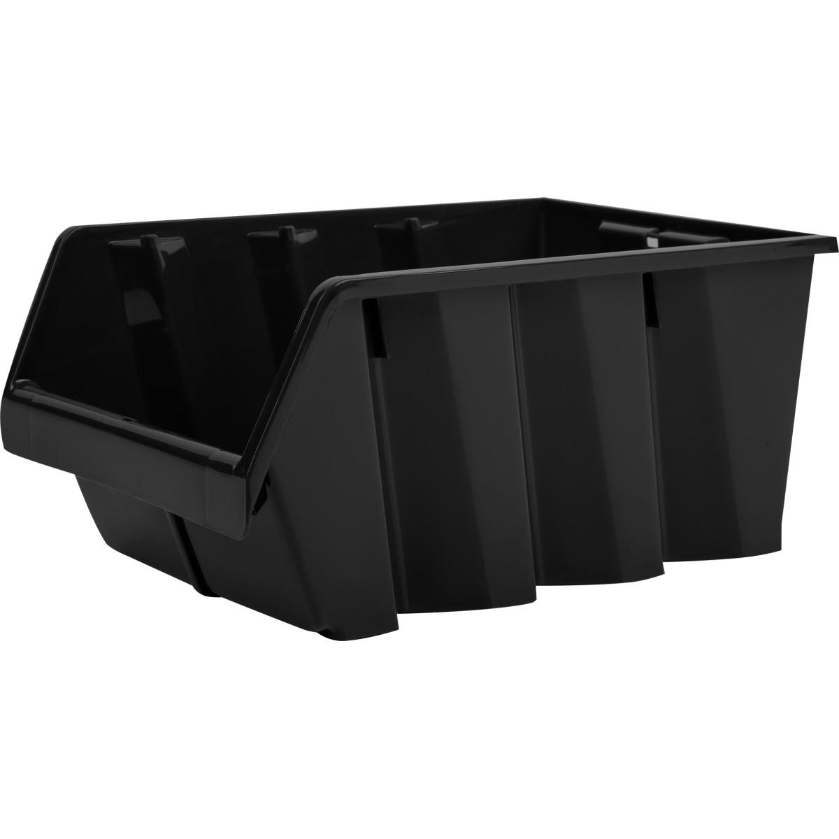 Лоток Volf 21.5х33х15.5 см пластик цвет чёрный