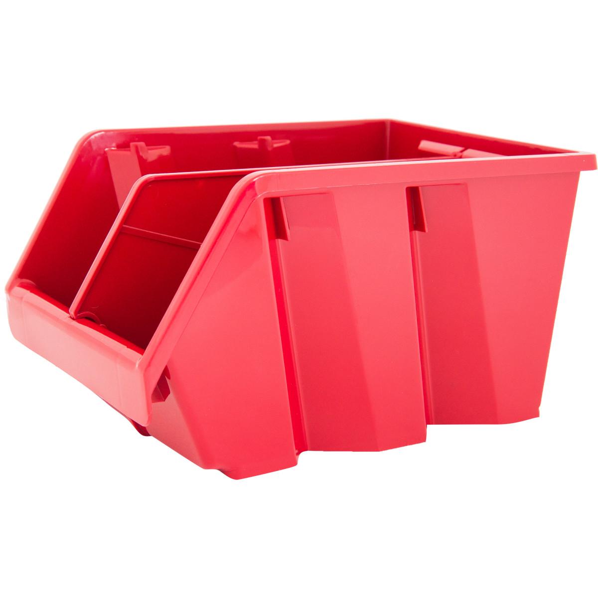 Лоток Volf 15.5х22.5х12.8 см пластик цвет красный