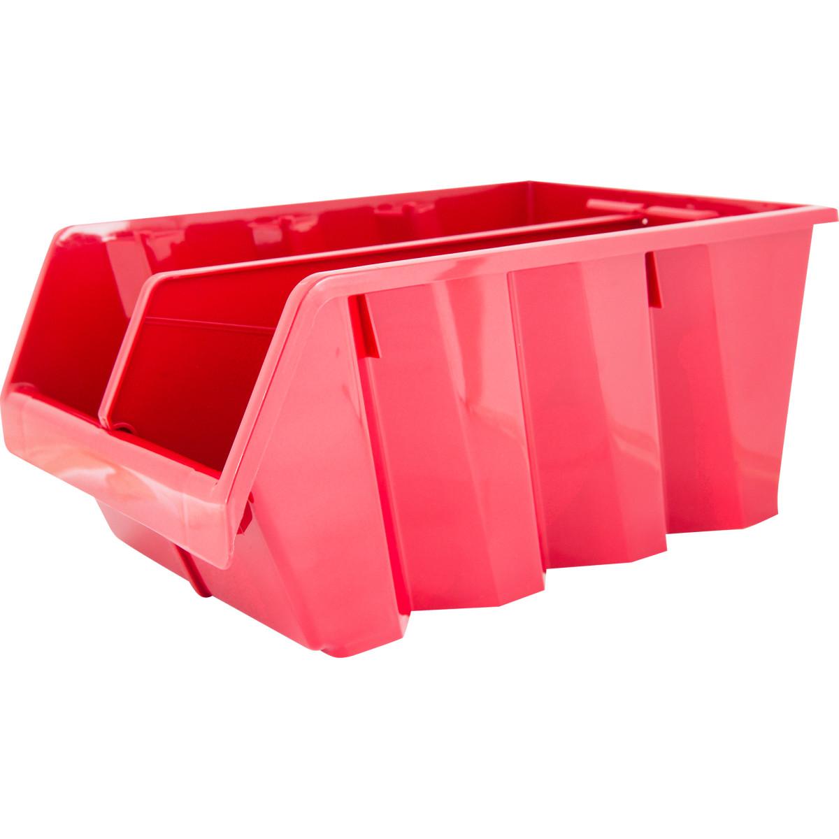 Лоток Volf 21.5х33х15.5 см пластик цвет красный