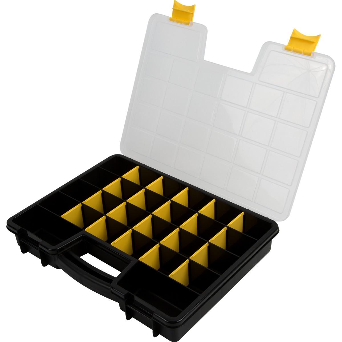Органайзер Volf 39Х295Х6 Пластик Цвет Черный