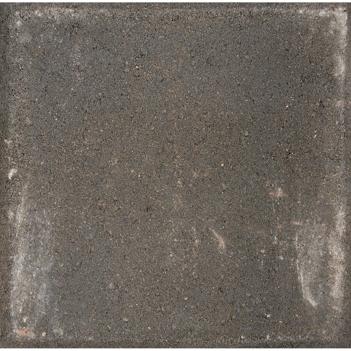 Плитка тротуарная вибропрессованная 300x300x60 мм цвет черный