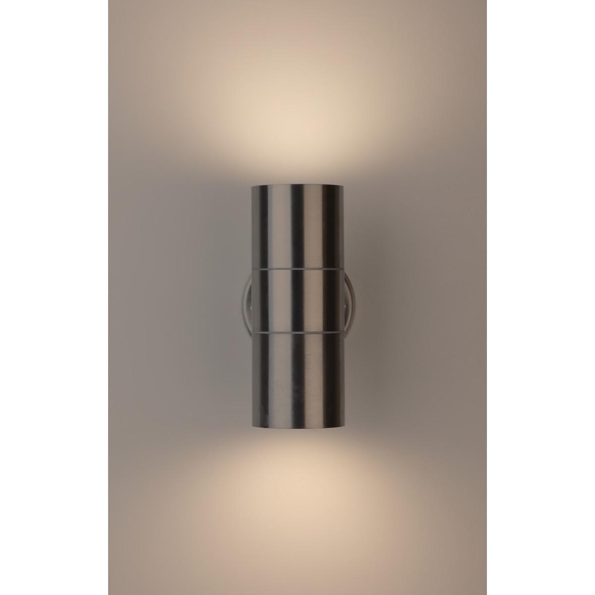 Светильник настенный уличный Эра WL16 35 Вт IP54 цвет хром
