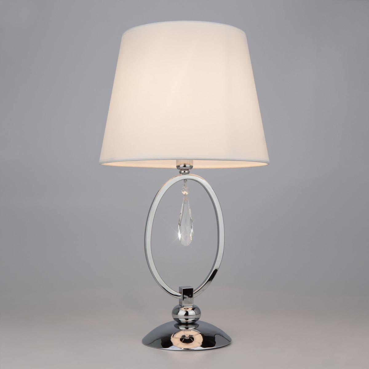 Настольная Лампа Eurosvet Madera 01055/1 Цвет Хром