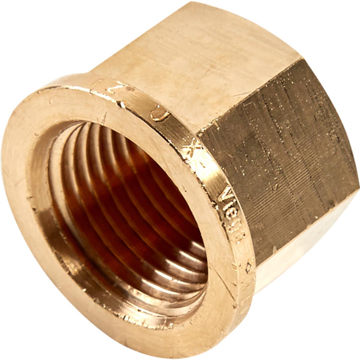Заглушка Viega 266660 внутренняя резьба 1/2 бронза