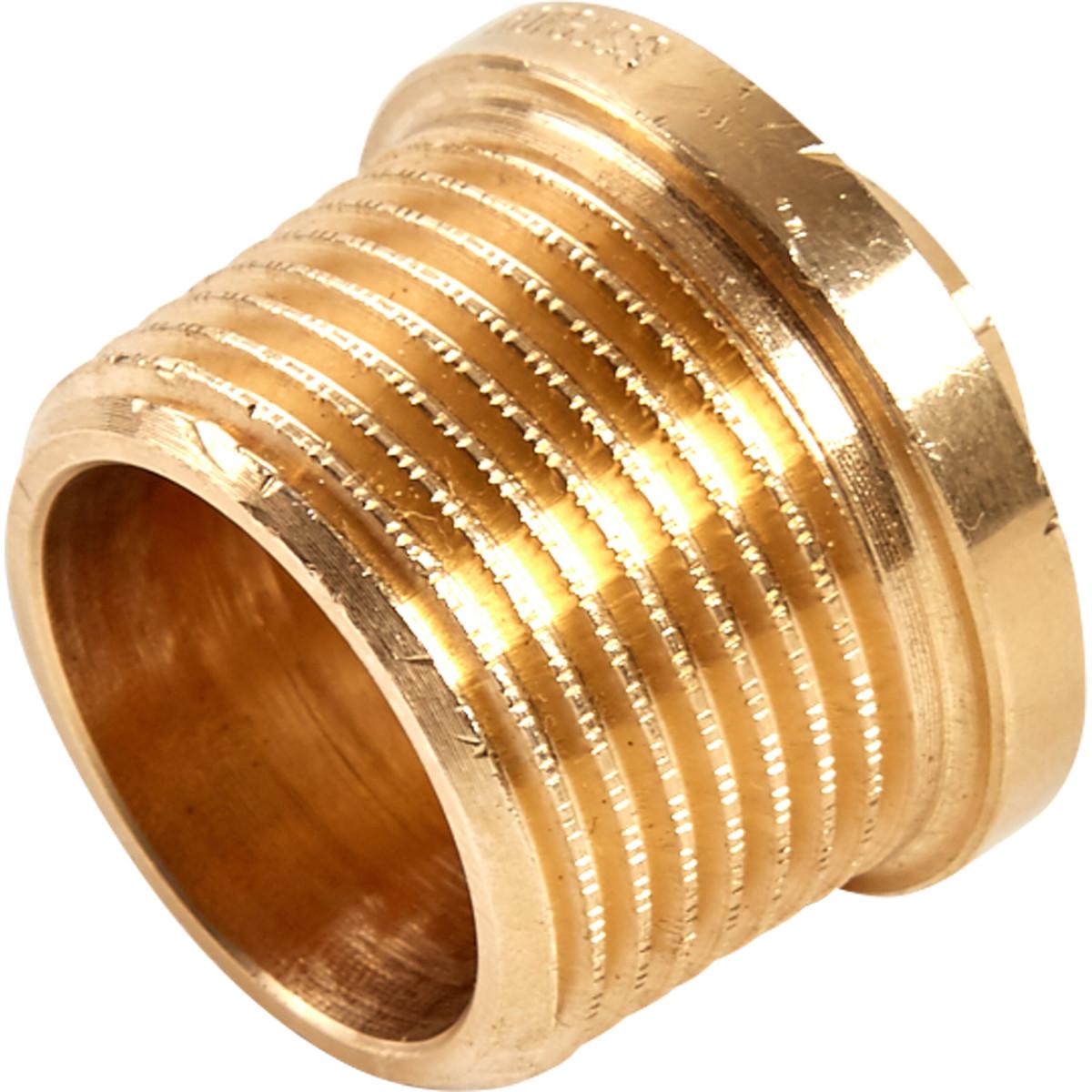 Заглушка Viega 320089 наружная резьба 3/4 бронза