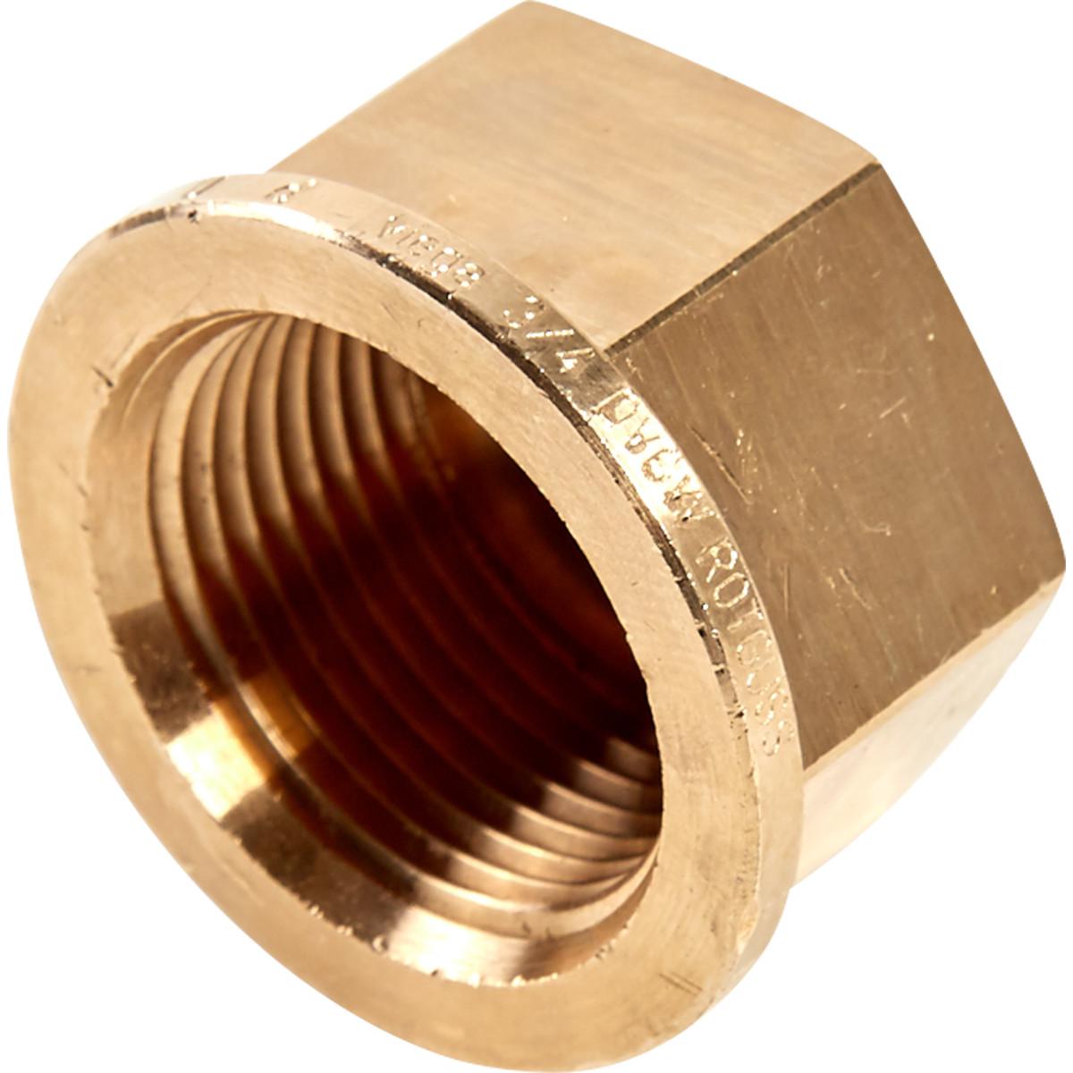 Заглушка Viega 266653 внутренняя резьба 3/4 бронза