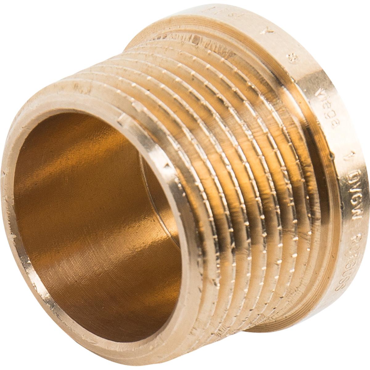 Заглушка Viega 320294 наружная резьба 1 бронза