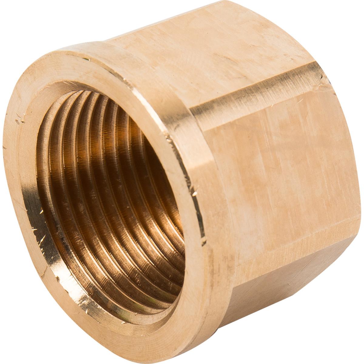 Заглушка Viega 268367 внутренняя резьба 1 бронза