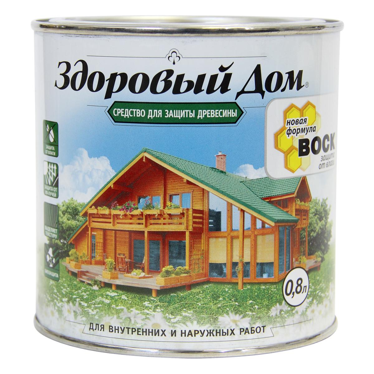 Антисептик Здоровый Дом матовый прозрачный 0.8 л