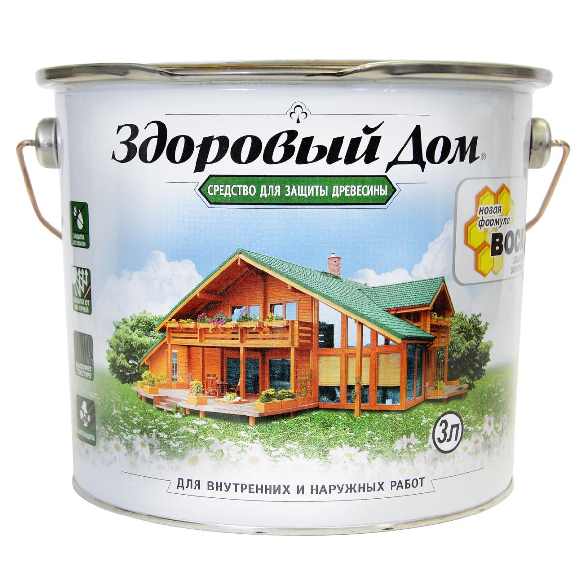 Антисептик Здоровый Дом матовый тик 3 л