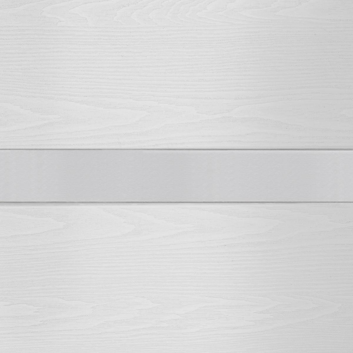 Дверь Межкомнатная Глухая С Замком В Комплекте Белиз 60x200 Пвх Цвет Дуб Белый