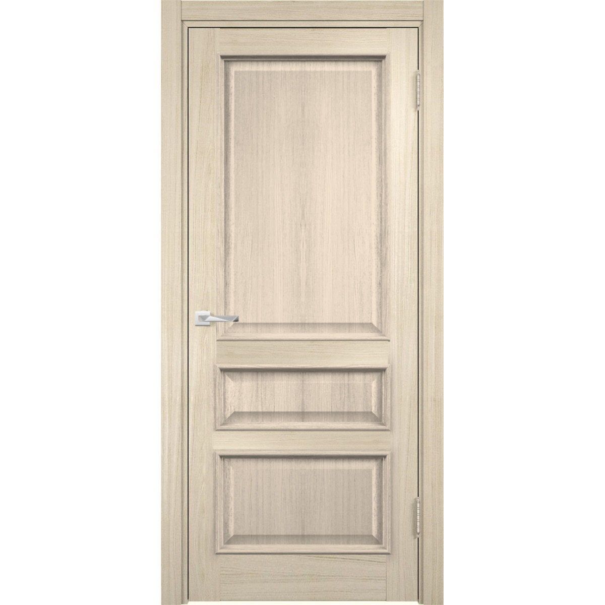 Дверь Межкомнатная Глухая С Замком В Комплекте Барселона 80x200 Пвх Цвет Дымчатый Дуб
