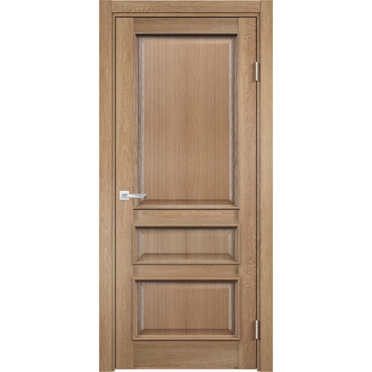 Дверь Межкомнатная Глухая С Замком В Комплекте Барселона 200x60 Пвх Цвет Орех