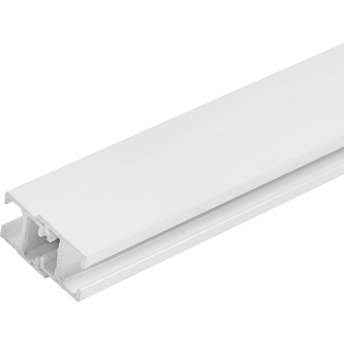 Карниз шинный однорядный Atlant Mini 240 см алюминий цвет белый