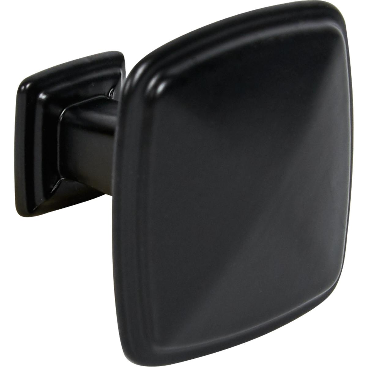Ручка-кноб L4.KNOB06BL цвет чёрный