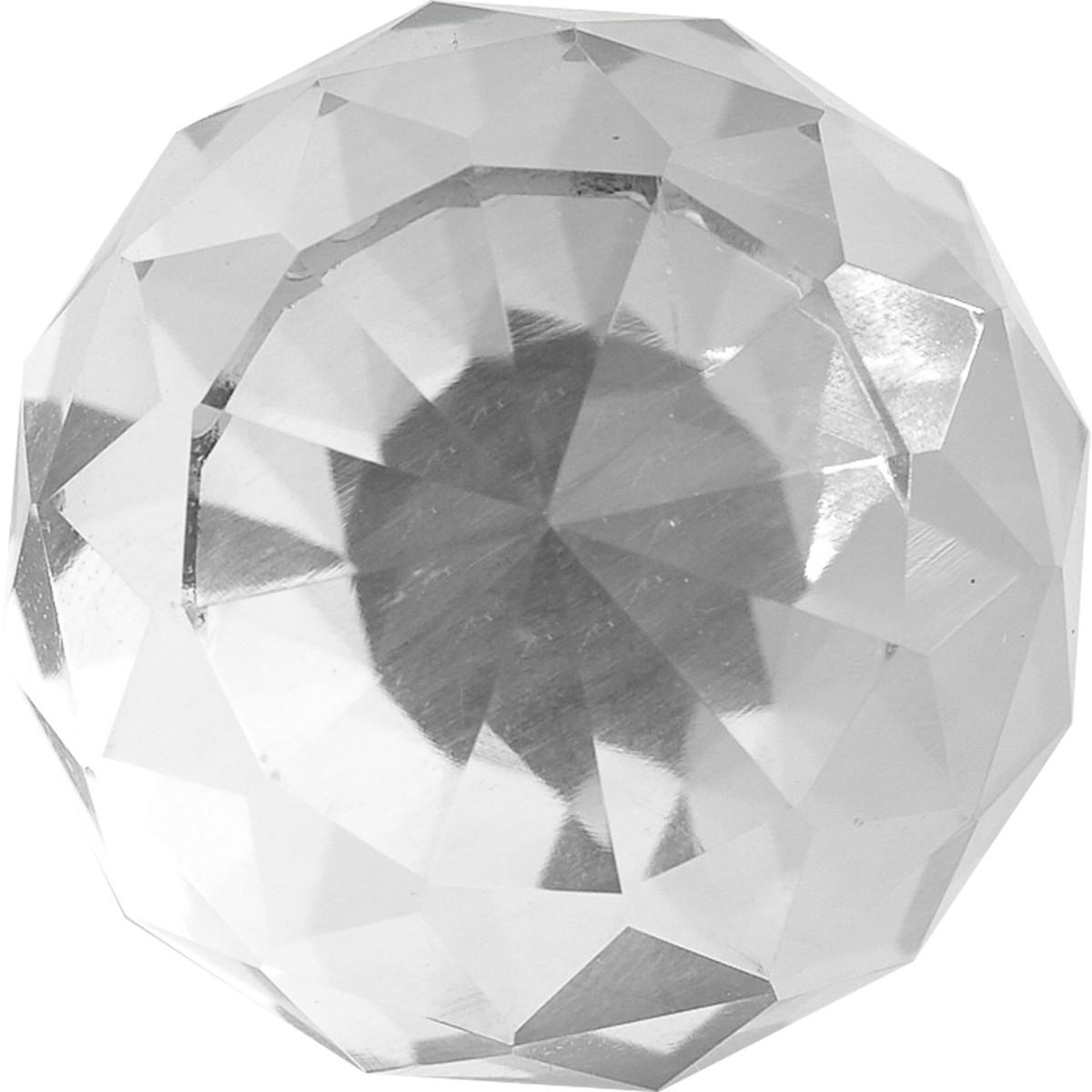 Ручка-Кноб L4knob07tr Цвет Прозрачный/Хром