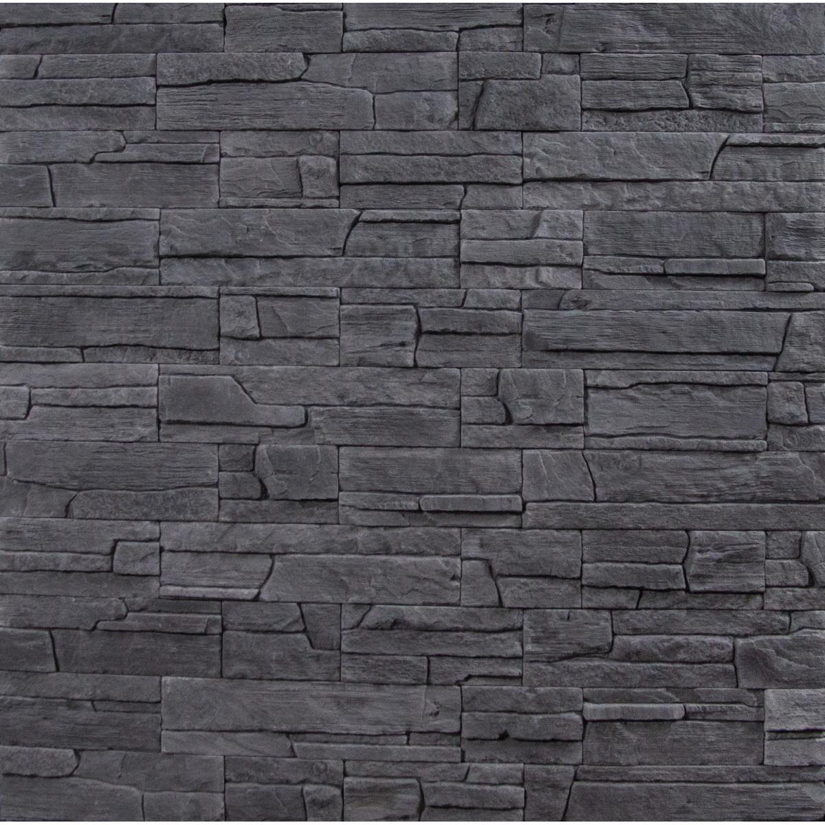Декоративная плитка КаскадРейндж 0.39 м² серый