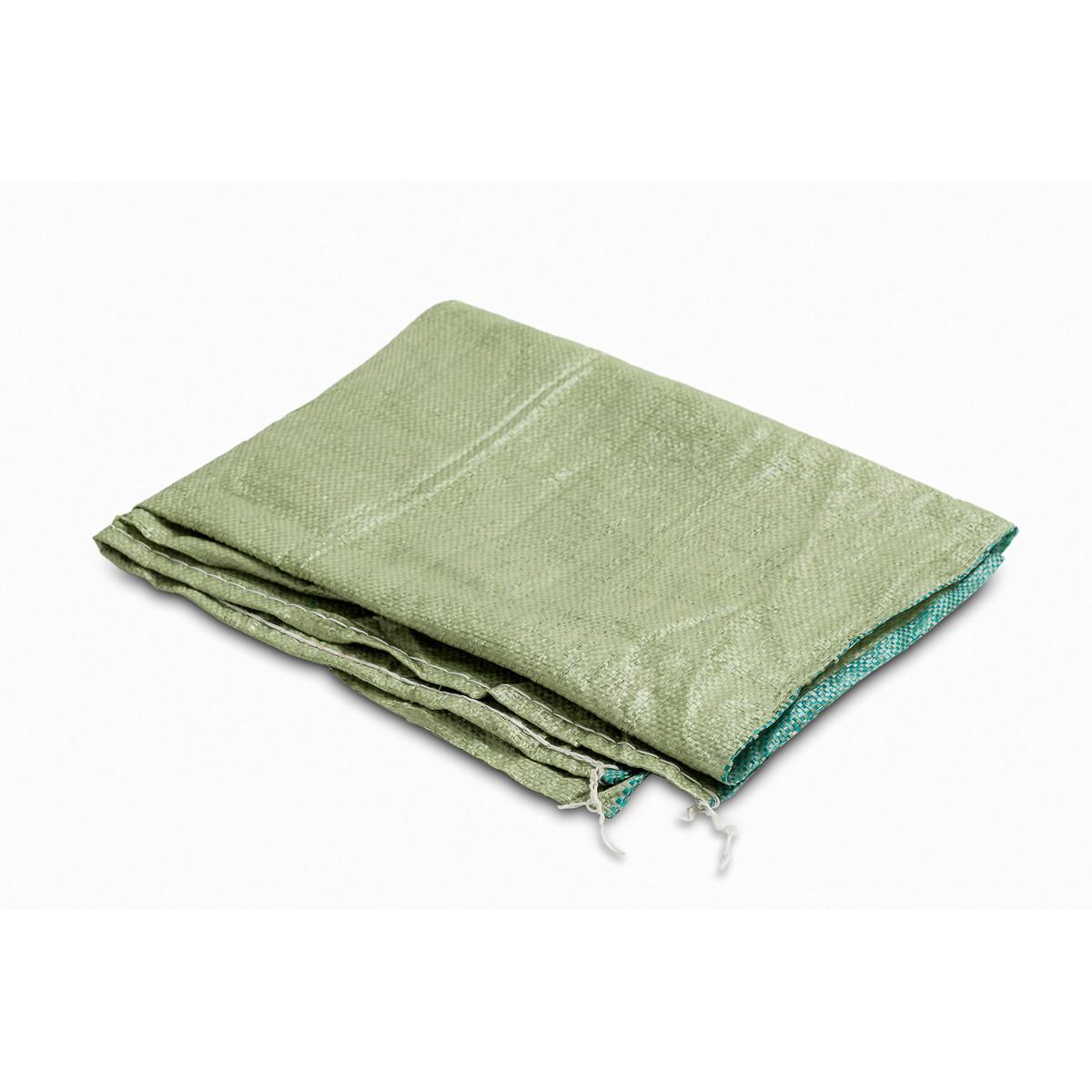 Мешок для мусора 90x130 мм ткань/пропилен зеленый