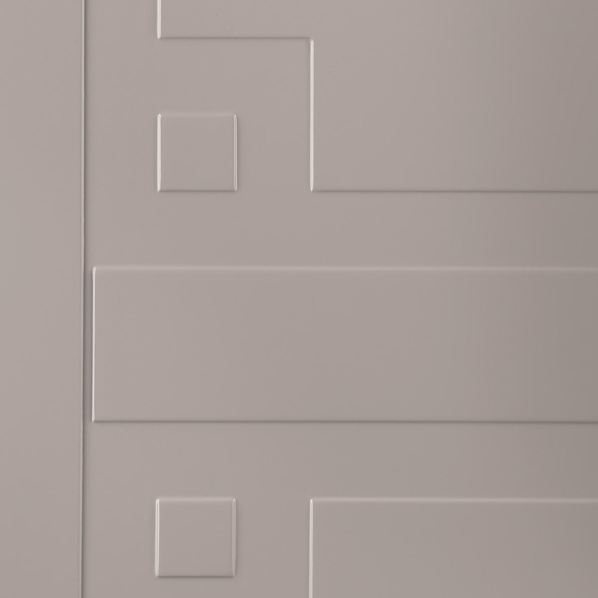 Дверь Межкомнатная Глухая С Замком В Комплекте Лира 200x90 Эмаль Цвет Мускат