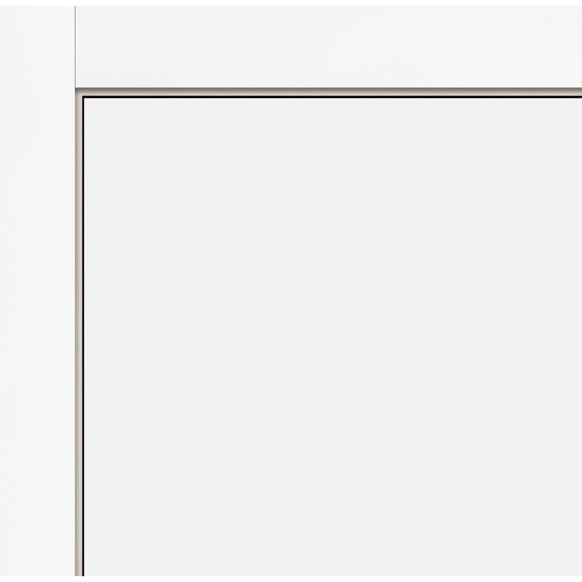 Дверь Межкомнатная Глухая С Замком В Комплекте 90x200 Эмаль Цвет Белый