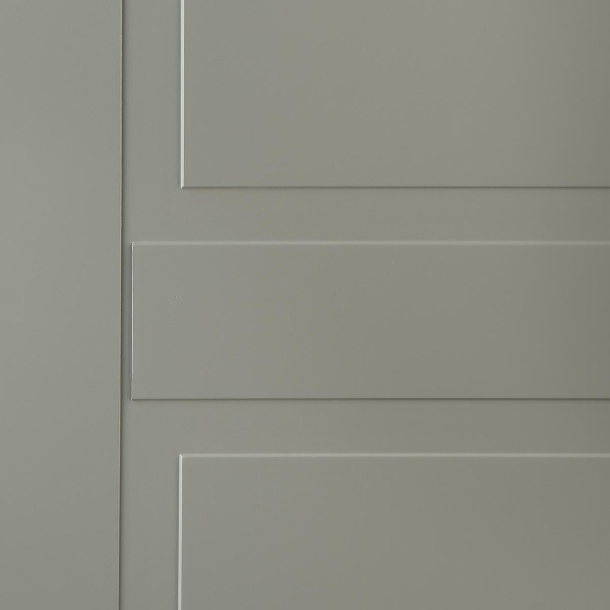 Дверь Межкомнатная Глухая С Замком В Комплекте Этна 200x90 Эмаль Цвет Грей