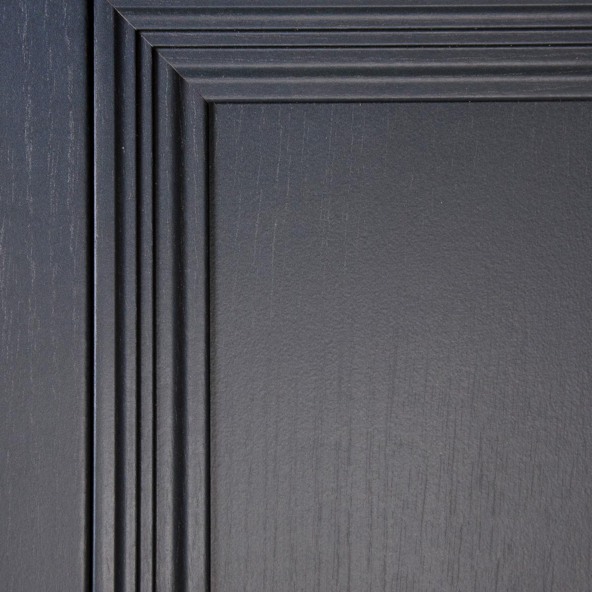 Дверь Межкомнатная Глухая С Замком И Петлями В Комплекте Трилло 60x200  Hardflex Цвет Грей