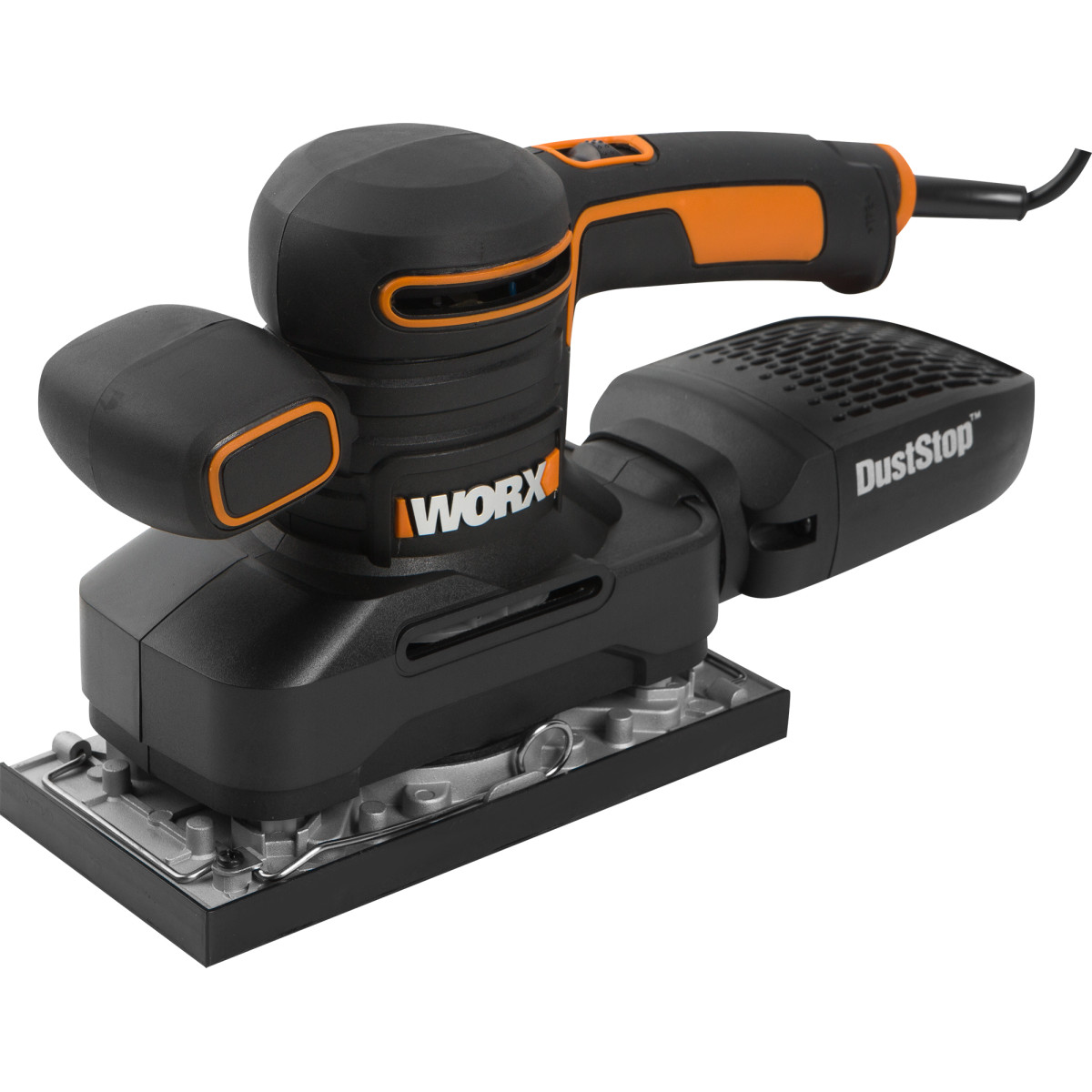 Вибрационная шлифмашина Worx WX641 92x190 мм 250 Вт