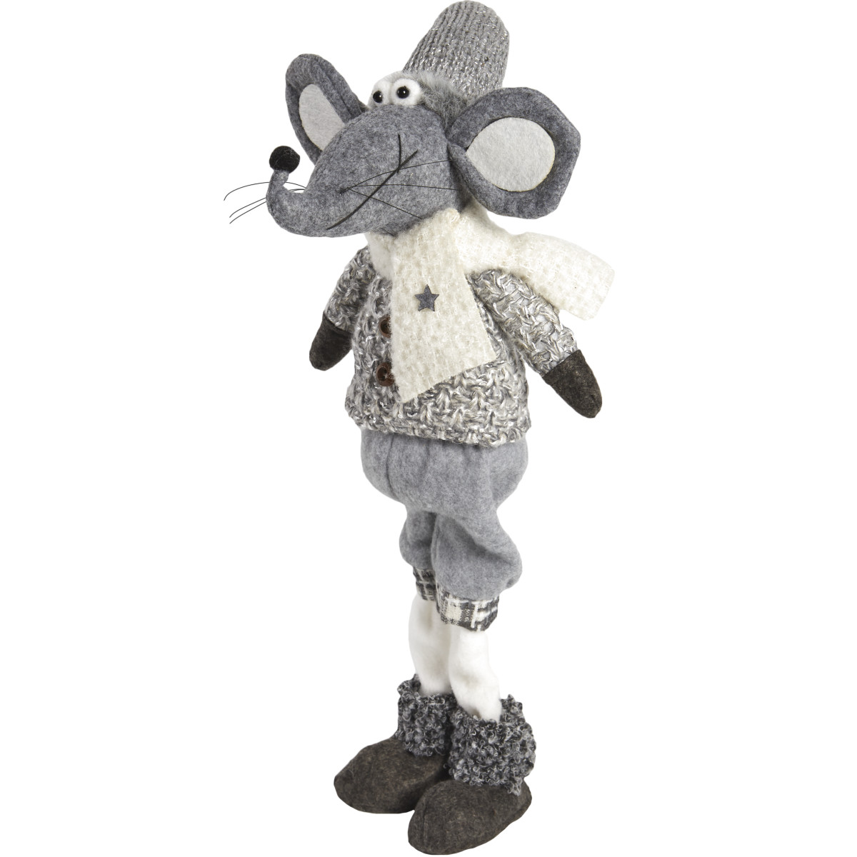 Мягкая Игрушка Мышонок Серый 54
