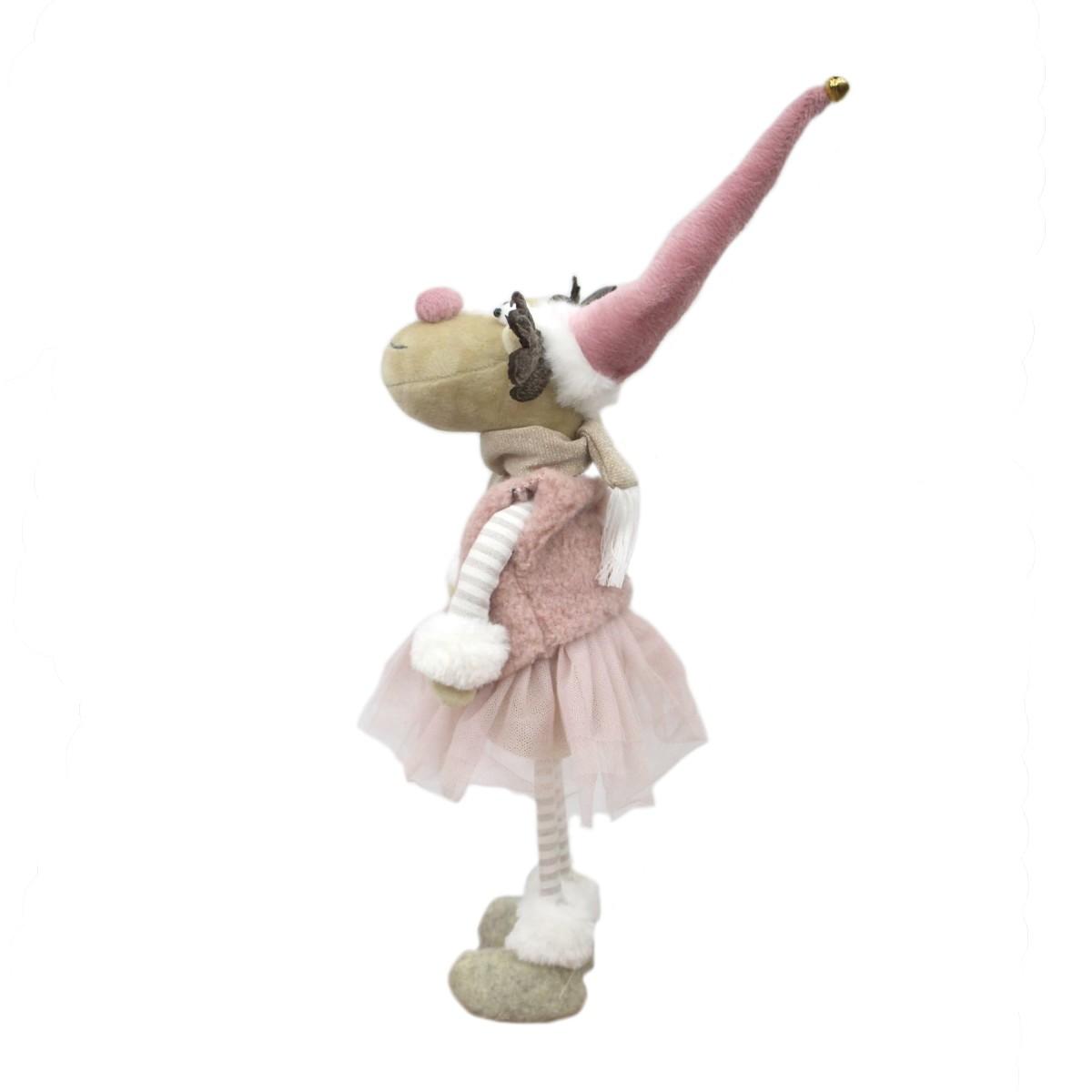 Мягкая Игрушка Олень-Девочка 38