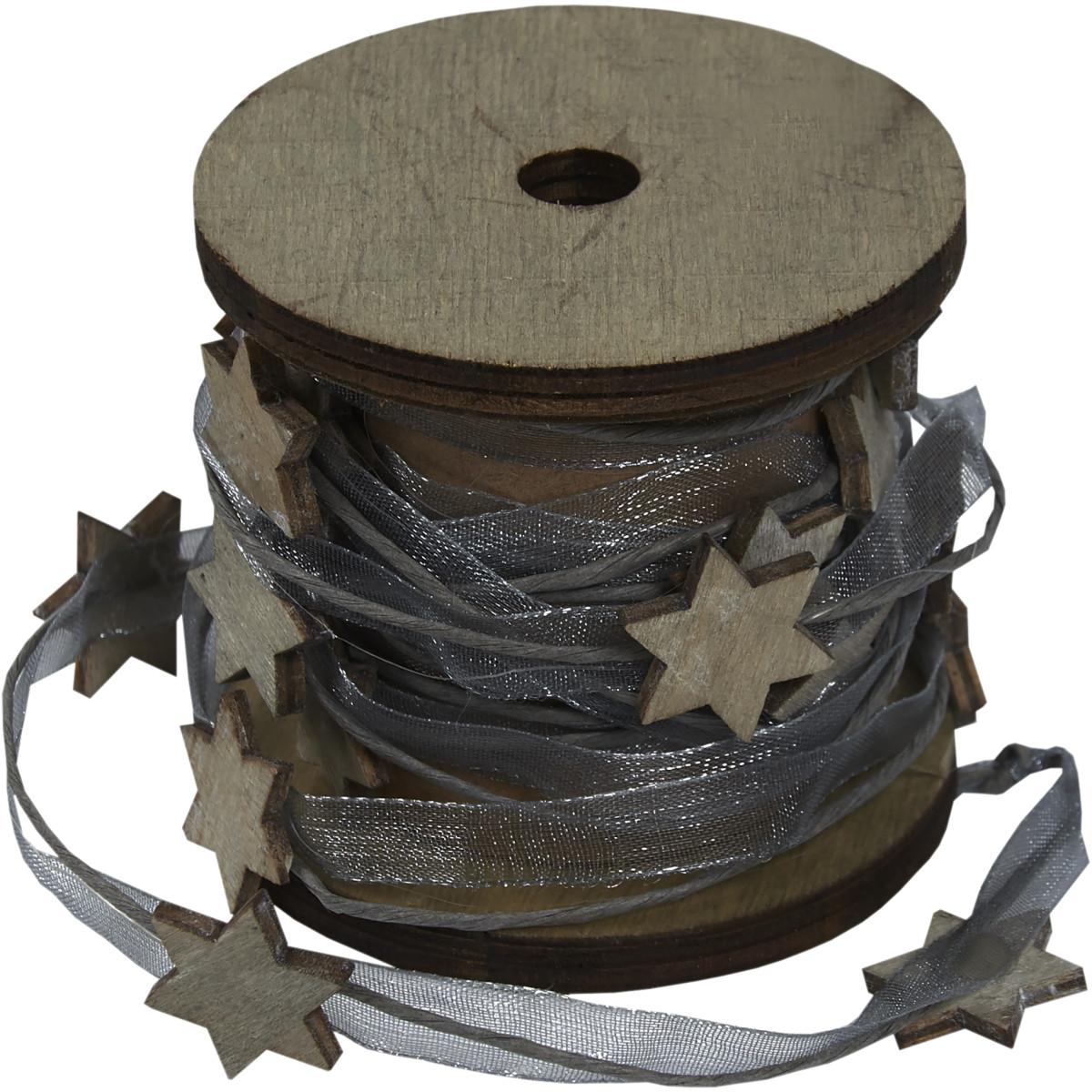Веревка для декорирования Звезды 2 м
