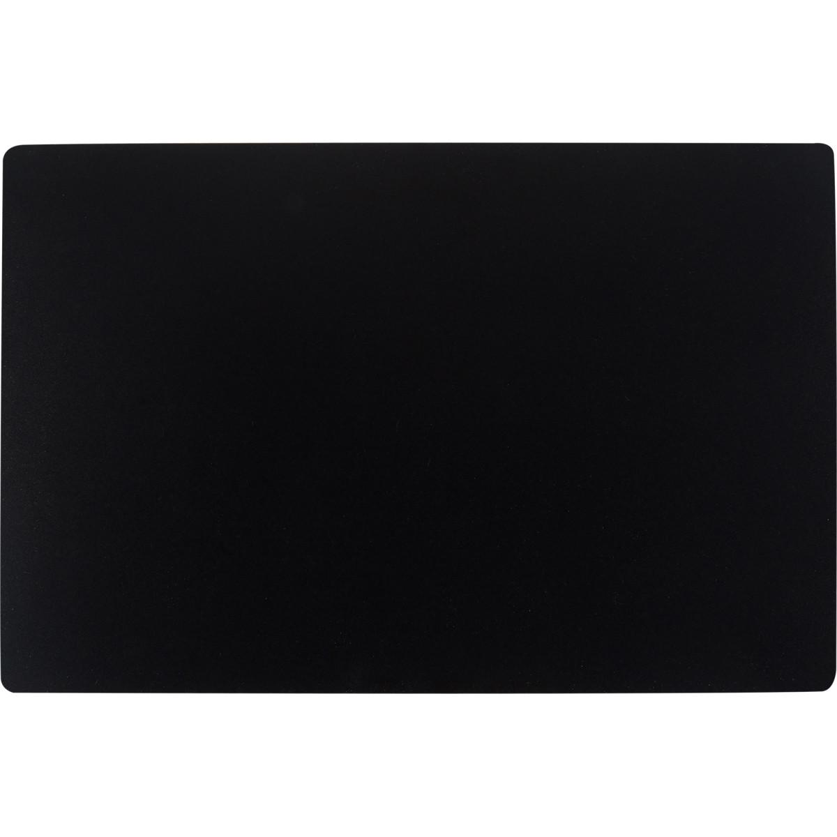 Коврик настольный 38x58 см полипропилен цвет черный