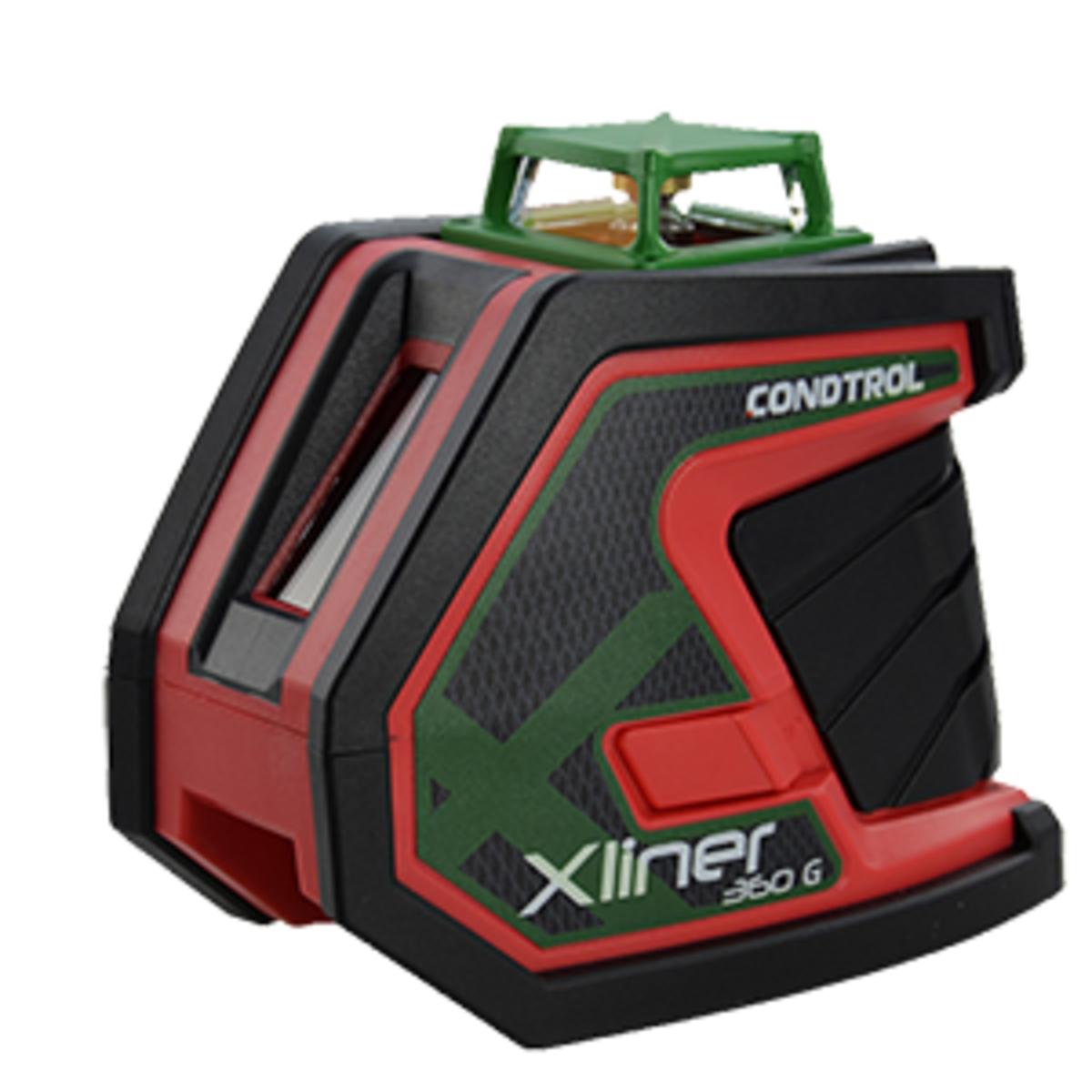 Лазерный нивелир Condtrol Xliner Duo 360G с перекрёстными лучами