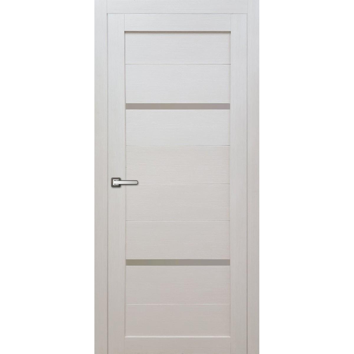 Дверь Межкомнатная Остеклённая Бэлла 80x200 Ламинация Цвет Кремовый С Фурнитурой