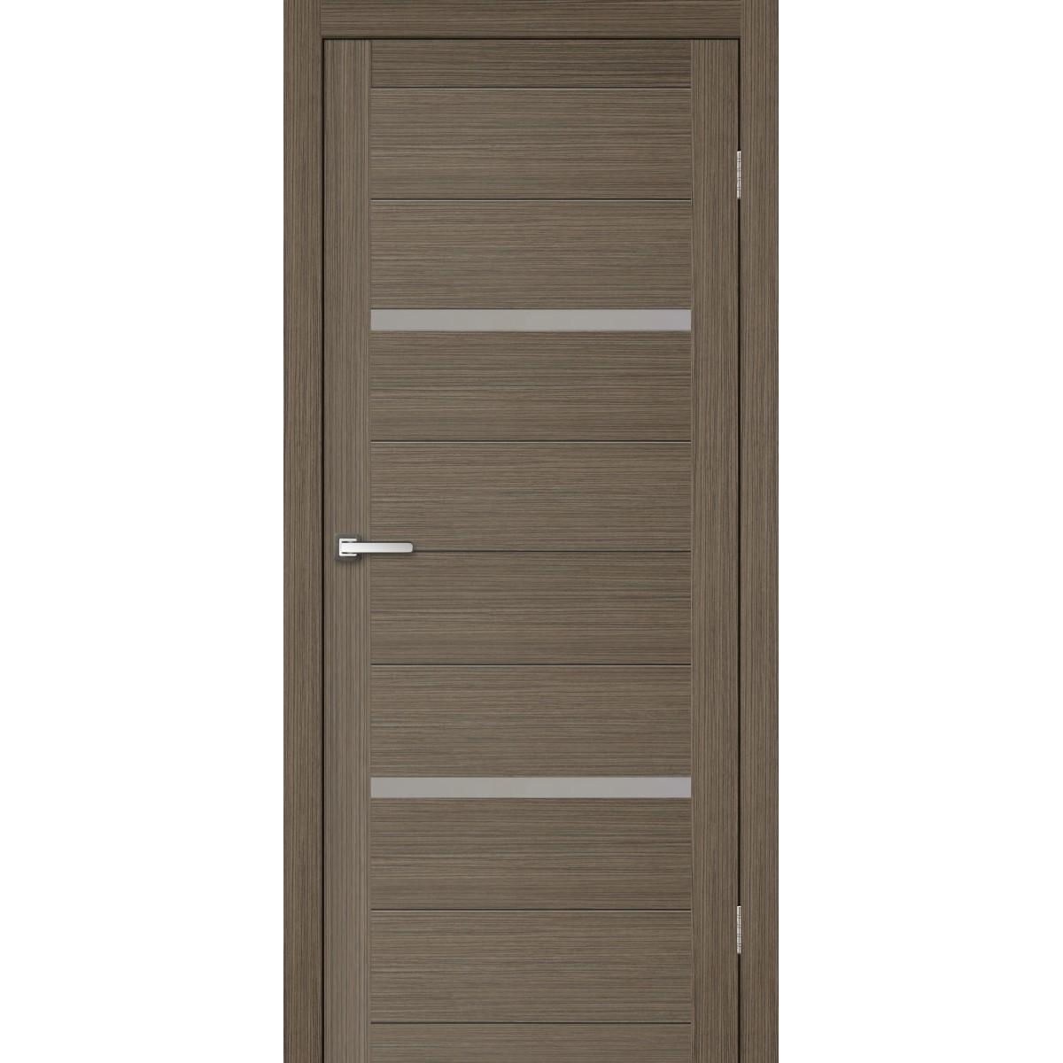 Дверь Межкомнатная Остеклённая Бэлла 80x200 Ламинация Цвет Мокко С Фурнитурой
