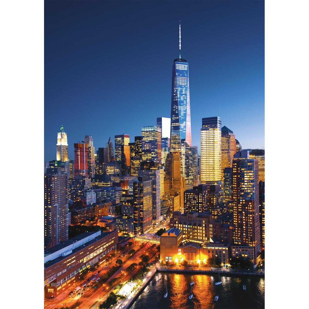 Фотообои 3D Flizart «Ночной город» флизелиновые 200x280 см